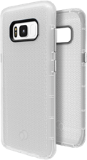 Nimbus9 Galaxy S8 Phantom2 Clear Case with Metallic Buttons