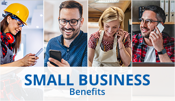 Exclusive benefits for Small Business owners Exclusive benefits for Small Business owners
