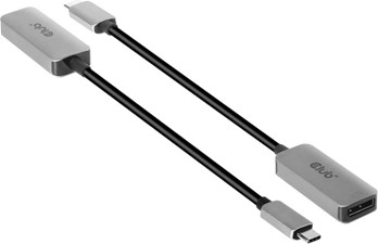 Club3D - USB-C to DP 1.4 8K60HZ DSC 1.2 HDR HBR3 Active adapter