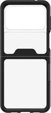 OtterBox - Galaxy Z Flip3  Symmetry Flex Case - Black/Clear