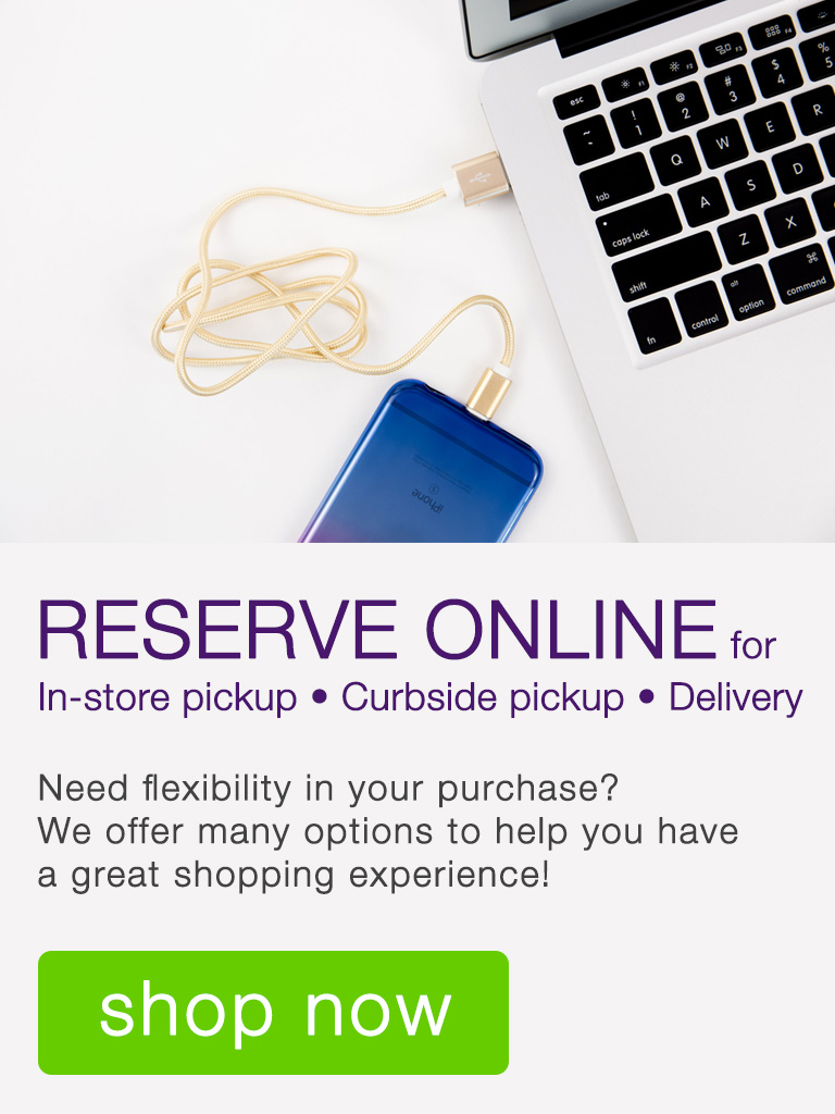 Need flexibility in your purchase? We offer many options to help you have a great experience!