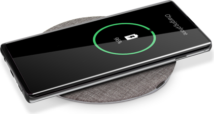 PowerPeak 15W Fast Charge Wireless Charging Pad w/ Fast Charge Adapter