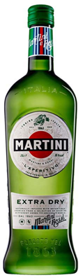 Bacardi Canada Martini & Rossi Extra Dry Vermouth 1000ml