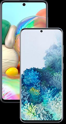 Samsung Galaxy S20 5G & Samsung Galaxy A71