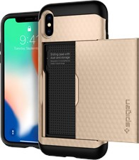 Spigen iPhone XS/X Crystal Wallet Case