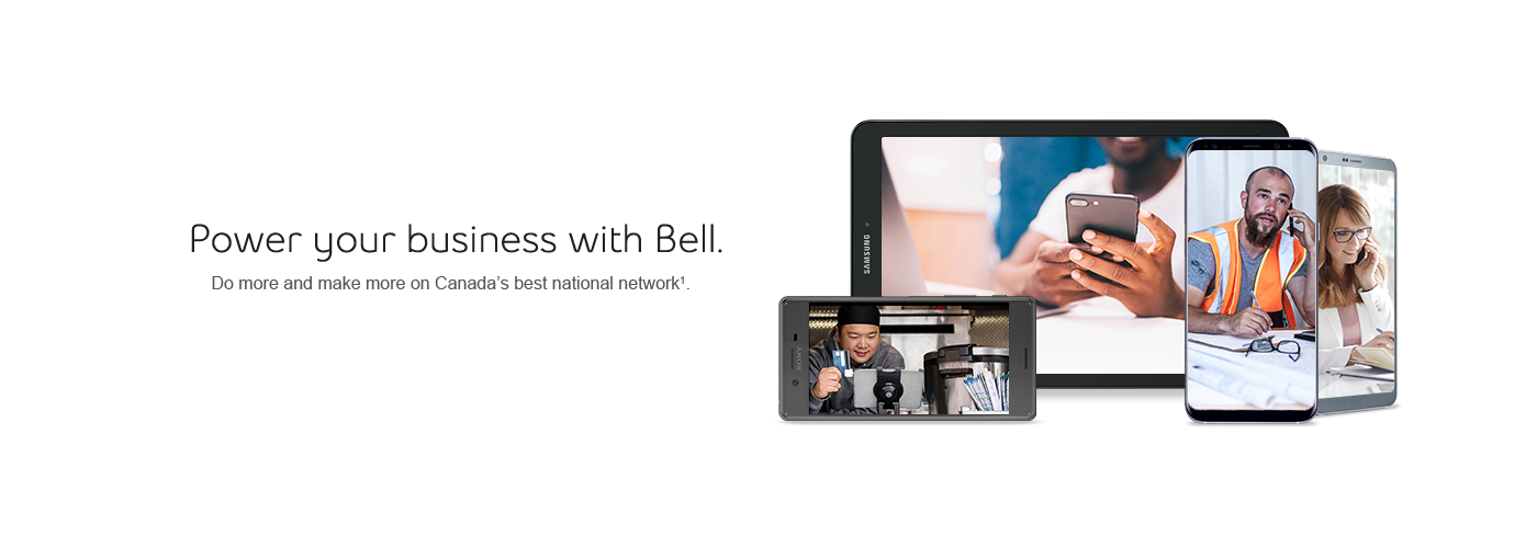 Power your business with Bell