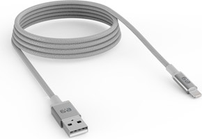 PureGear - USB-A to Lightning Braided Charge and Sync Cable (180cm)