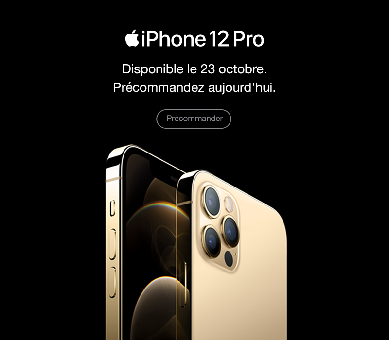 En savoir plus sur l'iPhone 12 Pro
