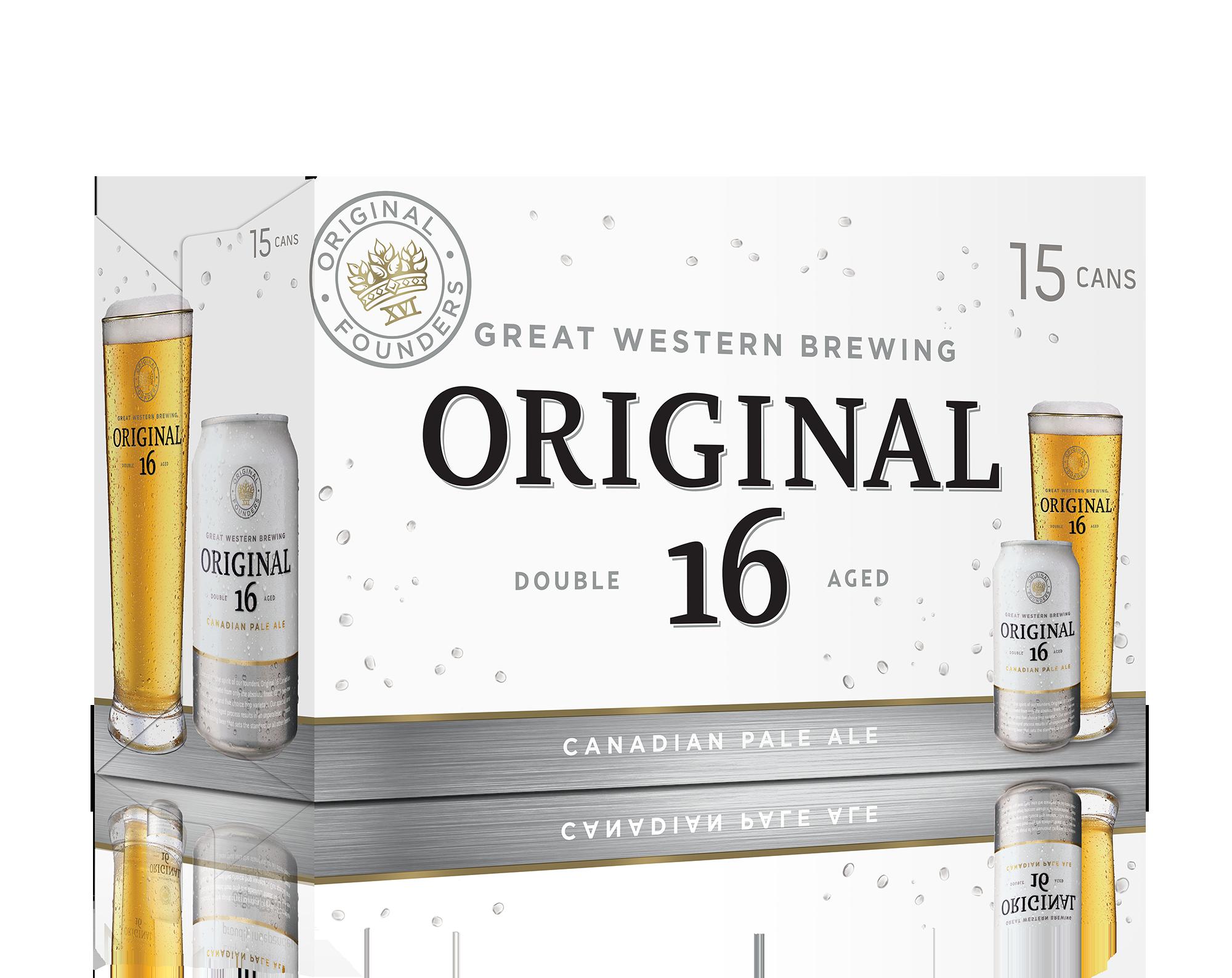 15C Original 16 Canadian Pale Ale 5325ml