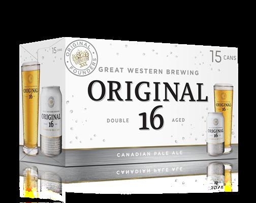 Great Western Brewing Company 15C Original 16 Canadian Pale Ale 5325ml