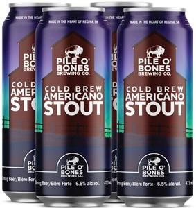 Pile O' Bones Brewing Company Pile O' Bones Cold Brew Americano Stout 1892ml