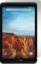 Gadgetguard Verizon Ellipsis 8 Black Ice Edition Tempered Glass Screen Guard
