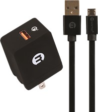mWorks 2.0 Meter mPower Quick Charge Single Port microUSB Home Charger