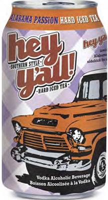 Set The Bar Hey Y'All Alabama Passion Hard Iced Tea 2046ml