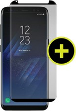 Gadget Guard Galaxy S8 Black Ice Plus Cornice Curved Edition Tempered Glass Screen Guard