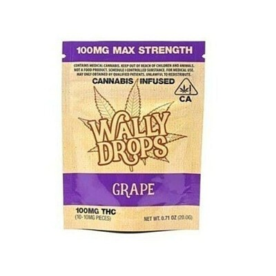Wally Drops: Grape 50mg