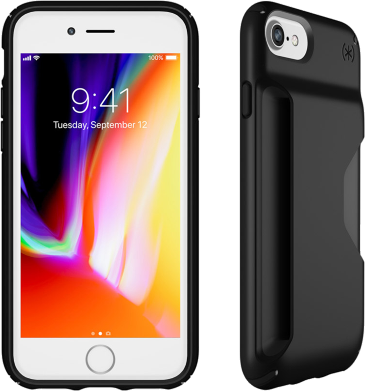 the latest eab25 440d4 Speck iPhone 8/7/6s/6 Presidio Wallet Case Price and Features