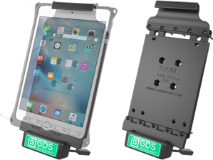 RAM Mounts iPad Mini 4 Vehicle Dock with GDS Technology
