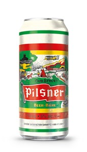 Molson Breweries 1C Old Style Pilsner 710ml