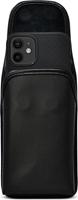 iPhone 12 Mini Turtleback Leather Holster w/Heavy Duty Vertical Metal Belt Clip