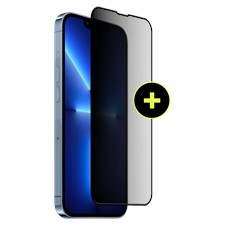 Gadget Guard - Black Ice Plus Flex Antimicrobial Privacy Screen Protector - iPhone 13 Pro Max