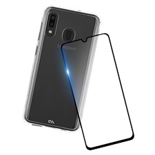 Case-Mate Protection Pack Tough Clear Case Plus Glass Screen Protector For Galaxy A20