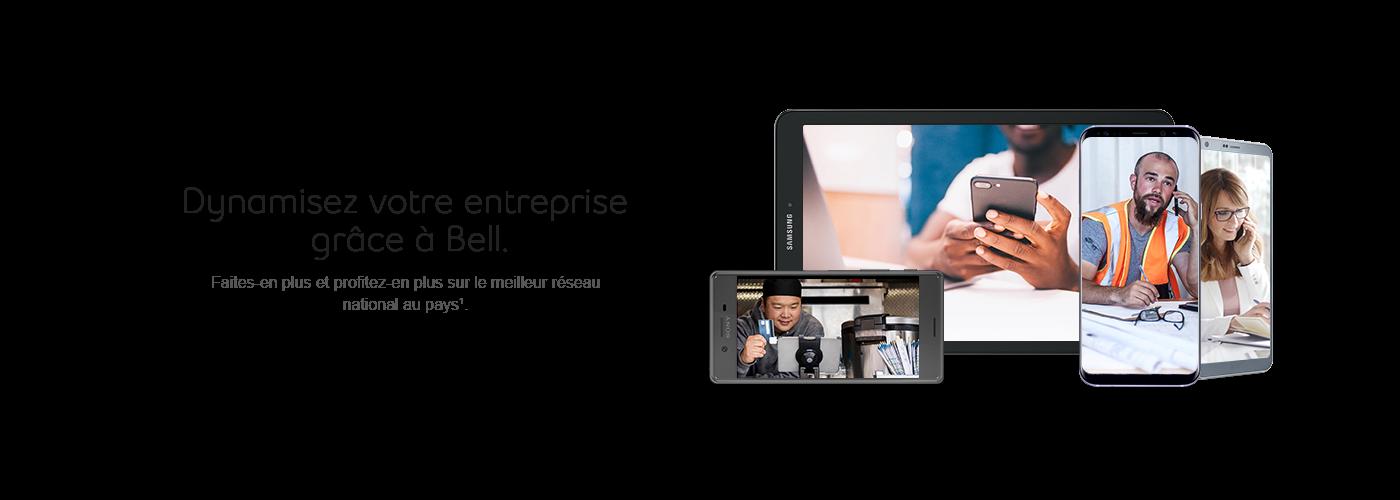 Dynamisez votre enterprise grâce à Bell