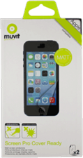 Muvit iPhone 6 Plus Matte Cover-Ready Screen Protector (2pk)