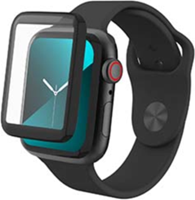 Invisibleshield Apple Watch Series 4/5 (44mm) InvisibleShield GlassFusion Hybrid Glass Screen Protector