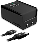 microUSB Qmadix Qualcomm Quick Charge 2.0 Travel Charging Kit