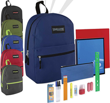 backpack and school supplies giveaway