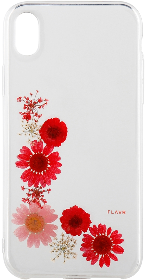 iPhone XR iPlate Real Flower Case