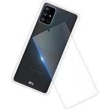 Case-Mate Galaxy A71 5G(Verizon) Protection Pack Tough Case And Glass Screen Protector