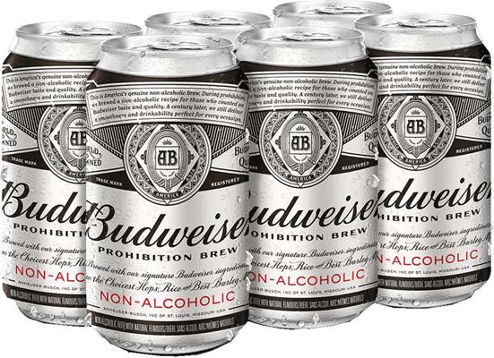 Labatt Breweries 6C Budweiser Prohibition Brew 2130ml