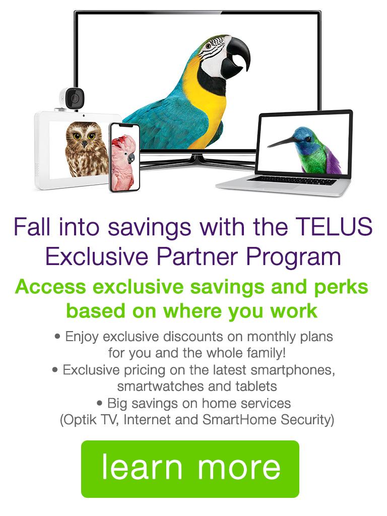 TELUS Exclusive Partner Program