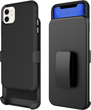 Blu Element iPhone 11/XR Armour 2X Case and Holster Combo