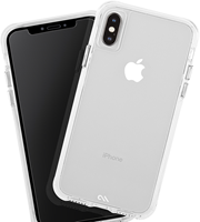 CaseMate iPhone XS Max Tough Clear Case Plus Glass Screen Protector