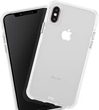 Case-Mate iPhone XS Max Tough Clear Case Plus Glass Screen Protector