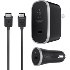 Belkin USB Type-C Universal Car/Wall Charger