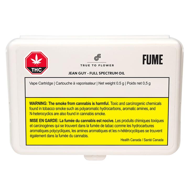 Jean Guy Full Spectrum - Fume True to Flower - 510 Cartridge
