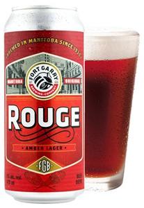 Set The Bar Fort Garry Rouge Amber Lager 473ml