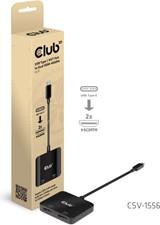 Club3D - USB-C 3.2 Gen 1 Multistream Transport Hub to HDMI 2.0 Dual Monitor 4K60HZ