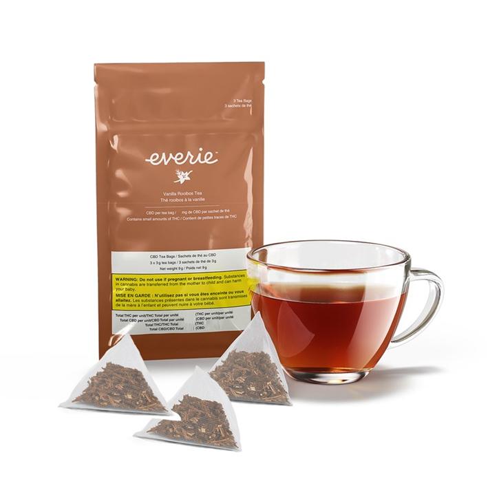 Vanilla Rooibos CBD Tea - Everie - Tea