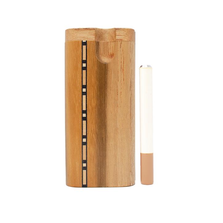 US Made - Standard Teak Dugout w/ vertical inlay