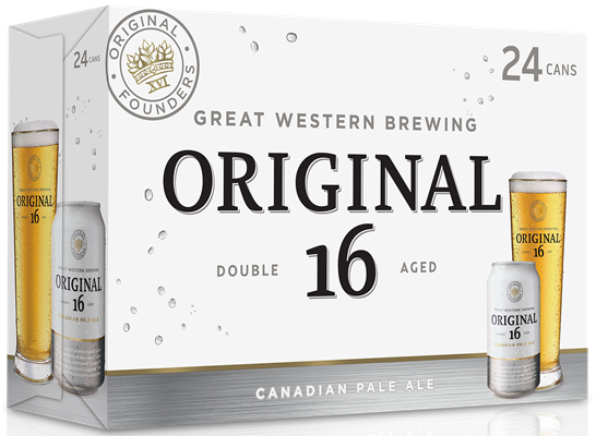 Great Western Brewing Company 24C Original 16 Pale Ale 8520ml