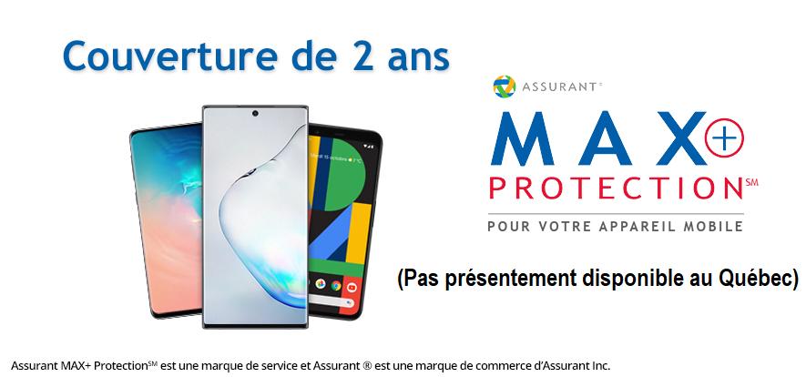 Max+ Protection - Couverture de 2 ans
