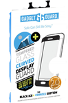 Gadget Guard Galaxy S9 Black Ice Plus Cornice 2.0 Full Adhesive Curved Tempered Glass Screen Guard