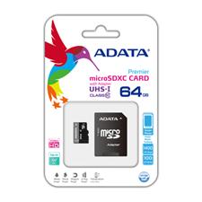 A-Data Class 10 microSD w/ SD Adaptor
