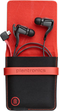 Plantronics BackBeat GO II Wireless Bluetooth Headset and Charge Case