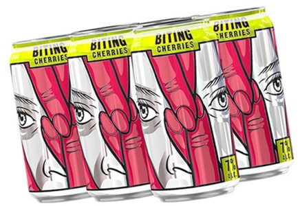 Aquilini Brands 6C Jaw Drop Biting Cherries 2130ml